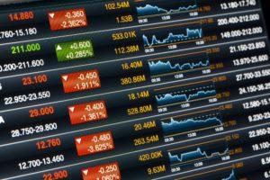 Watchliste innerhalb einer Handelsplattform