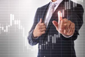 Trendhandel Ein- und Ausstiege